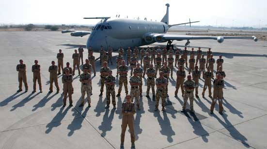 CXX Squadron detail at Seeb October 2008 Image: Crown Copyright